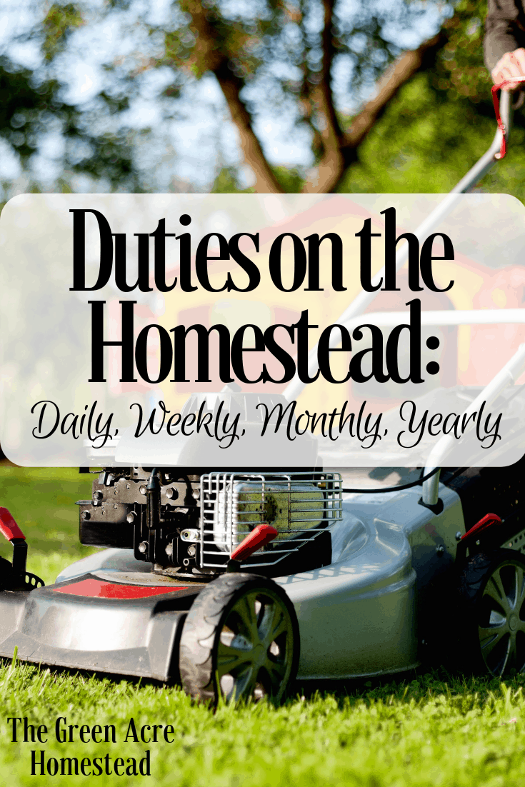 Duties on the Homestead_ Daily, Weekly, Monthly, Yearly (4)
