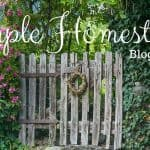 Simple Homestead Blog Hop #178