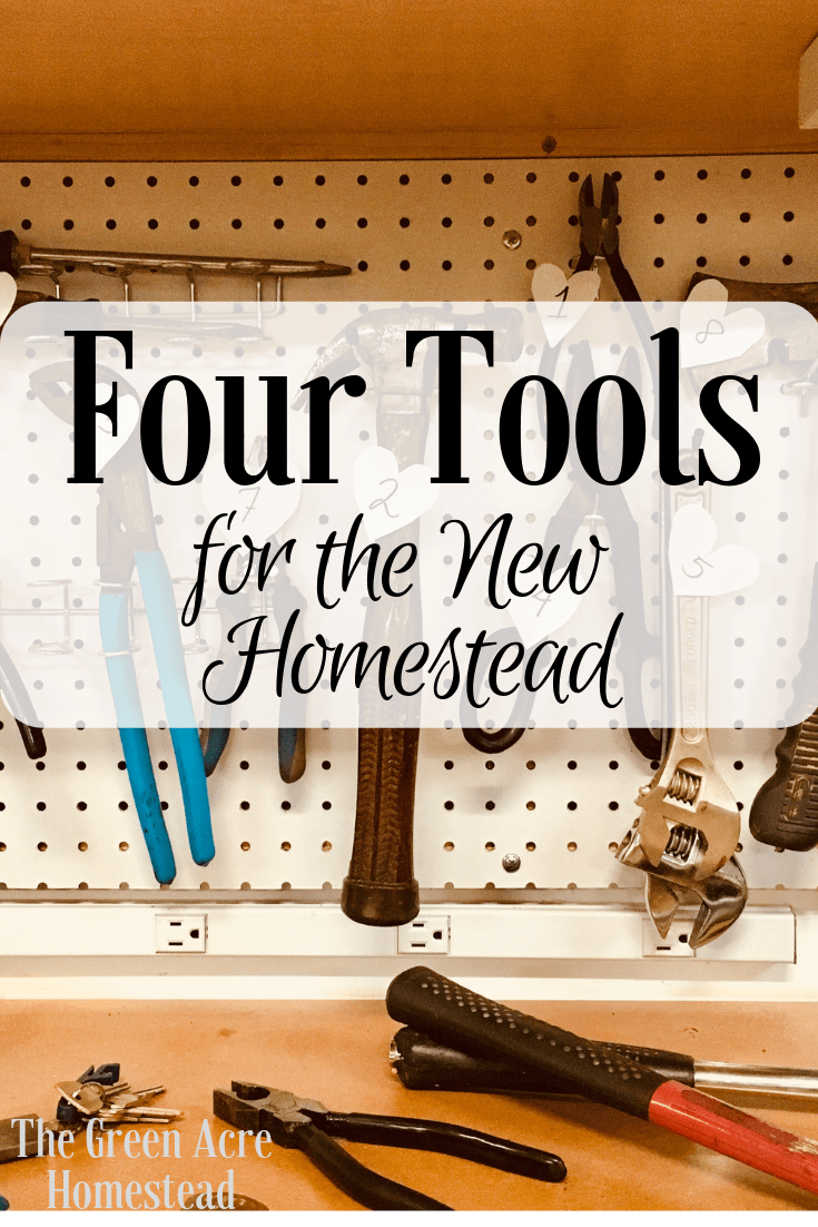 tools for the new homestead