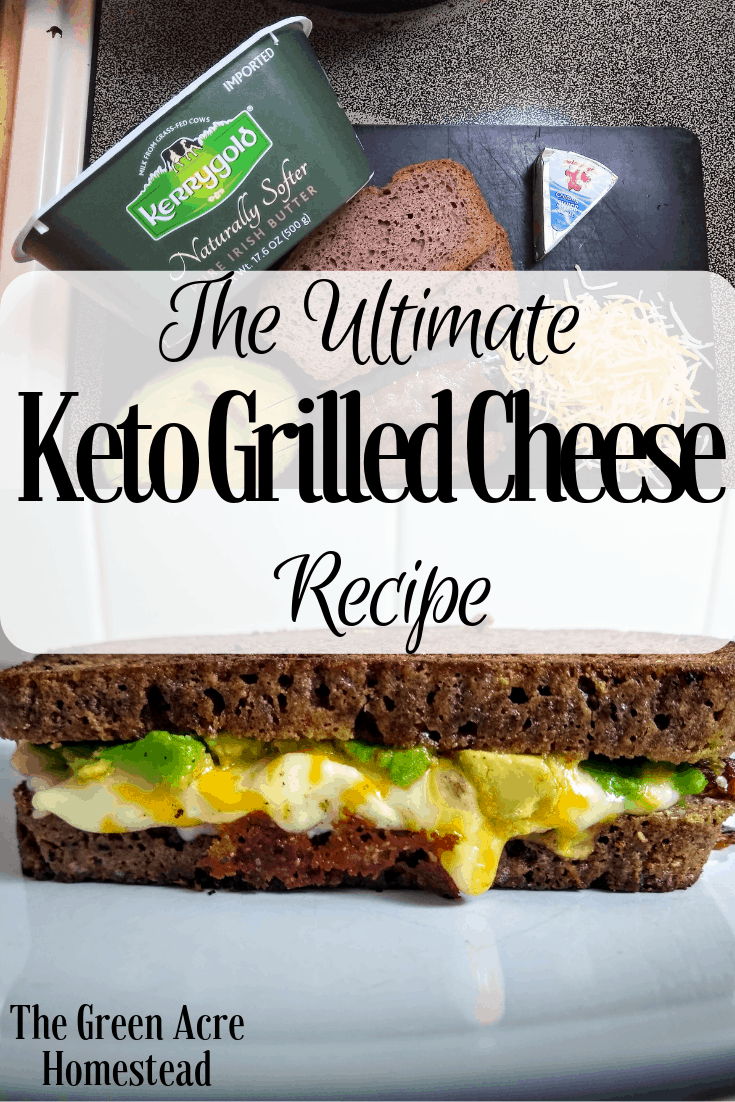 The Ultimate Keto Grilled Cheese Recipe