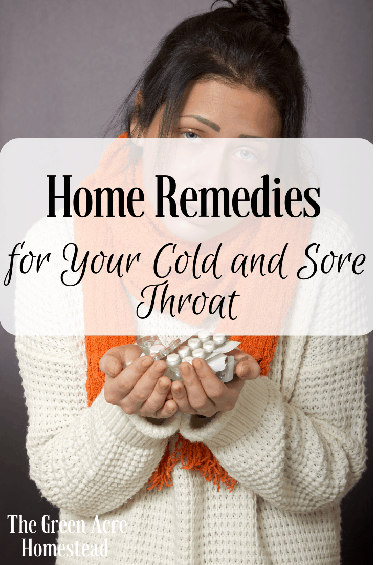 Home remedies for Your Cold and Sore Throat