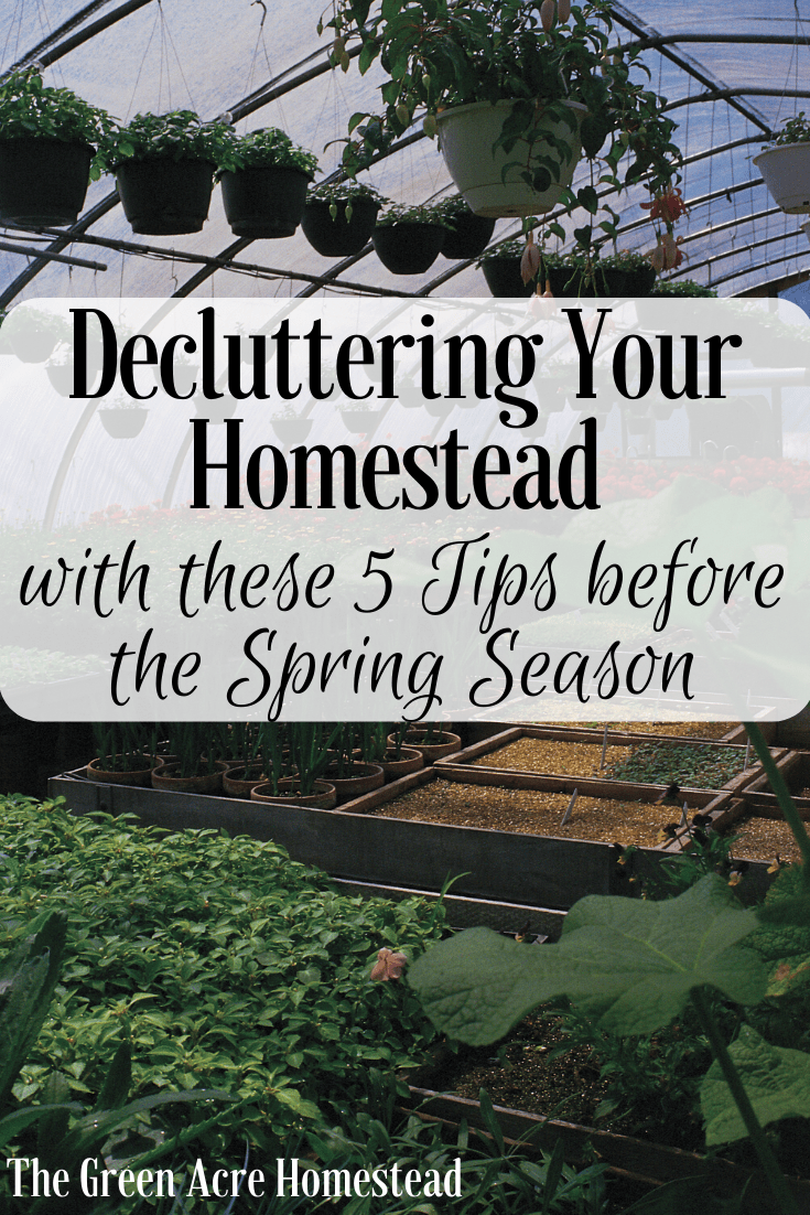 Decluttering Your Homestead with these 5 Tips
